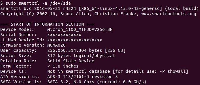 Updating Micron 1100 Series SSD firmware on Linux - LIEBERBIBER